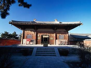 五台山唐代寺庙 手绘